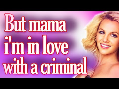 Criminal Britney Spears Lyrics video