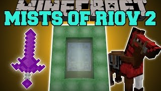 Minecraft: MISTS OF RIOV 2 MOD (ISLAND DIMENSIONS, UPGRADE WEAPONS, TOOLS, & MORE!) Mod Showcase