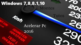 Acelerar WINDOWS 7, 8, 8 1, 10 l ELIMINAR ARCHIVOS TEMPORALES l #1 l MT