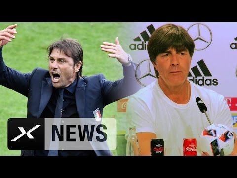 Joachim Löw: Antonio Conte verunsichert uns nicht | Deutschland - Italien |  EM 2016
