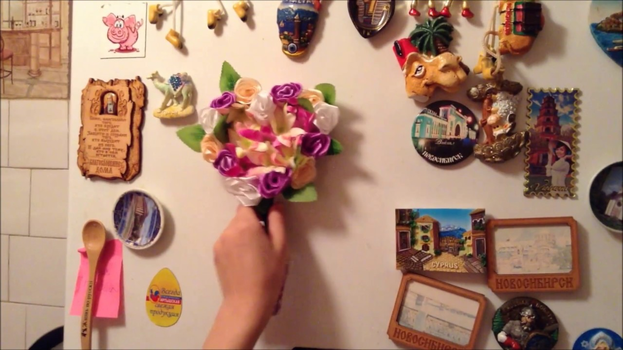Простой магнит на холодильник своими руками