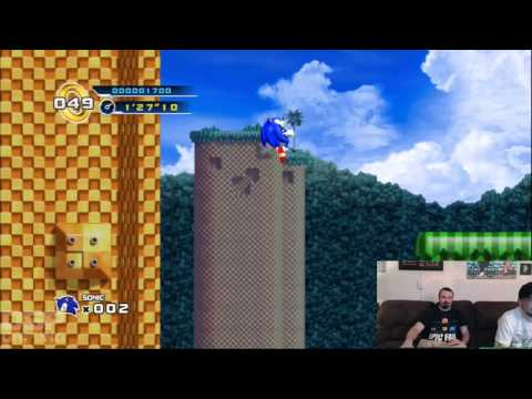 SGC Iron Man of Gaming 2013 Training - Sonic 4 pt1