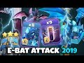 8 Electro Dragon + 9 Max Bat Spell + Stone Slammer :: TH12 ATTACK STRATEGY 2019 (Aftre Nerf)