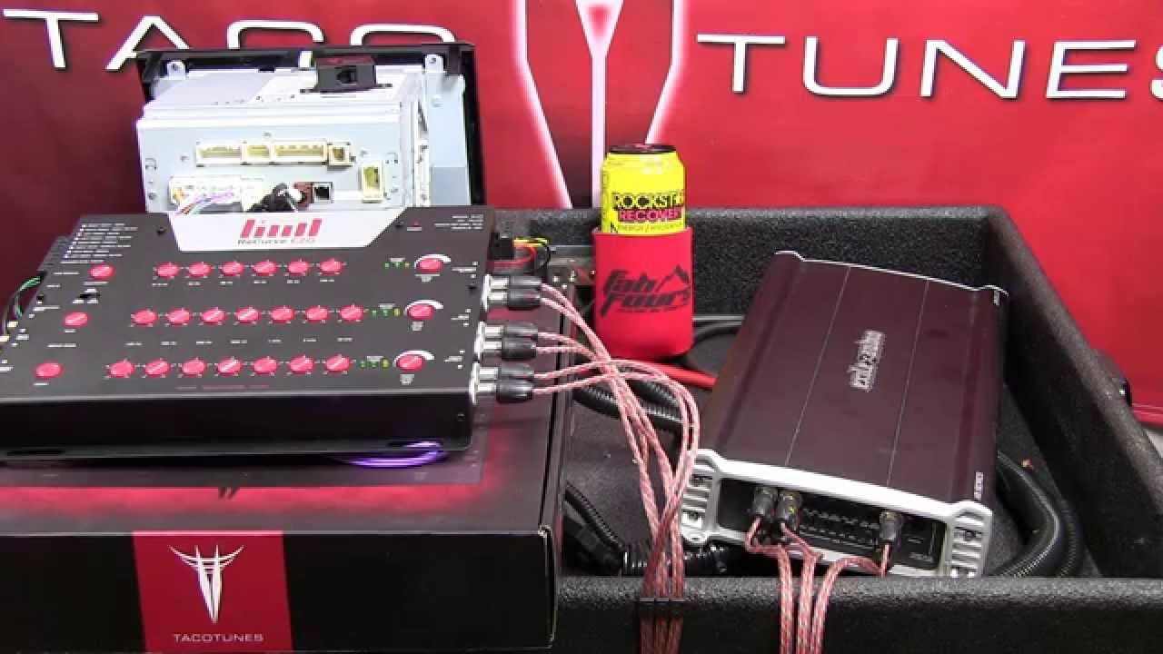 Toyota Tacoma Add Install Amplifier To Stock Entune Stereo