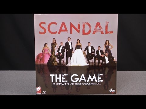 Scandal Board Game from Cardinal Games