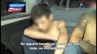 Traficantes escondem drogas na casa de grávida para despistar policiais