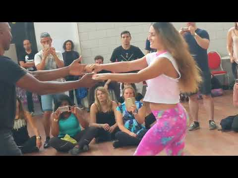 ZNL2018: Natasha & Gilson in Sunday workshop demo ~ Zouk Soul