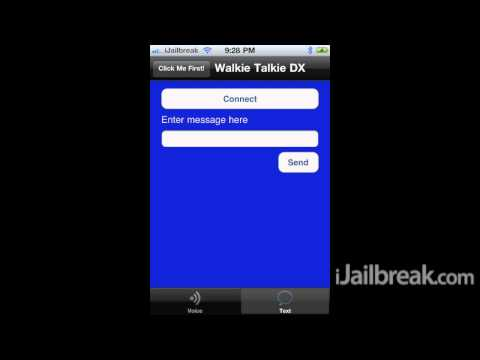 Walkie Talkie DX Cydia Tweak: Send Voice & Text Messages Over Bluetooth On iPhone