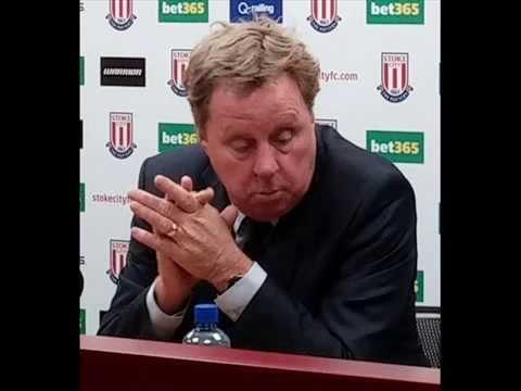 Mark Hughes & Harry Redknapp reflect on Stoke City QPR game Jan 2015