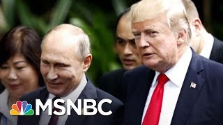 President Donald Trump Silent After Vladimir Putin's Nuclear 'Threat' | The Last Word | MSNBC