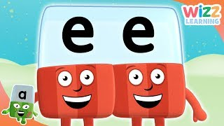 Phonics - Long E Sound | Alphablocks | Learn to Read | Wizz Learning