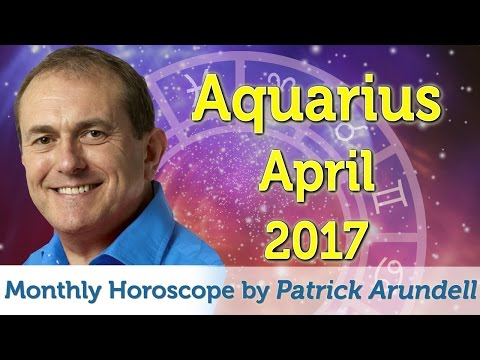 Aquarius April 2017 Horoscope