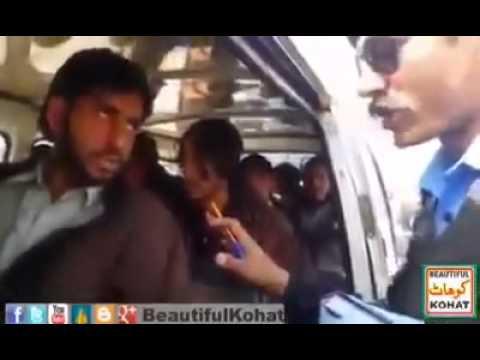 Pakistani Traffic Police Kohat Saqib Khan video