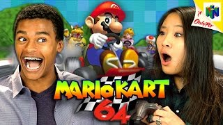 MARIO KART 64 (N64) (Teens React: Retro Gaming)
