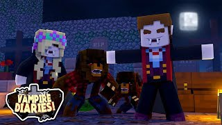 Minecraft VAMPIRE DIARIES || DONUT THE DOG & BABY MAX ARE INFECTED & BECOME WEREWOLVES || Roleplay
