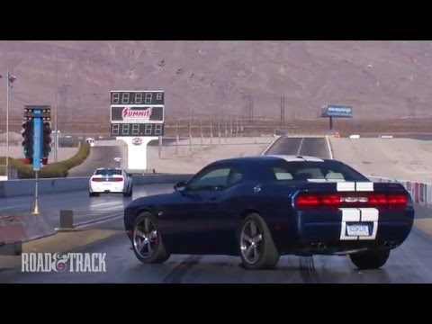 Dodge Challenger SRT8 392 vs. Shelby GT350