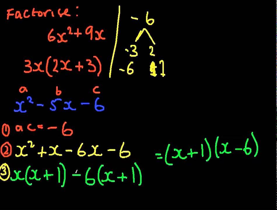 Factorising quadratics questions tes