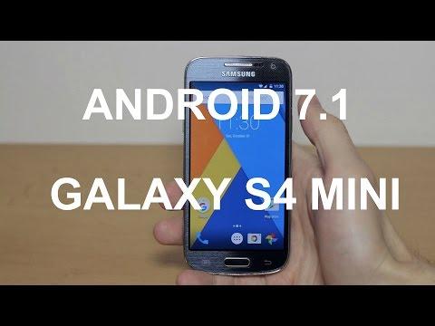 Как установить Android 7.1 на Galaxy S4 mini/Офигенная прошивка