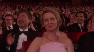Stars target Trump at the Tony Awards