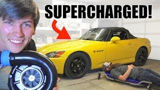 Supercharging My Honda S2000!