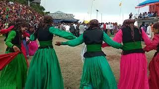 Pahari dance by Ghoond school girl