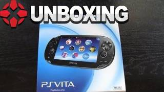 PlayStation Vita - US 3G Version Unboxing