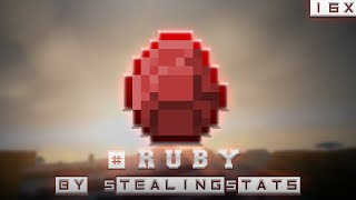 StealingStats [RED] RUBY 16x Edit (Minecraft PvP Resource or Texture Packs)
