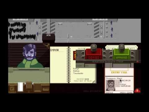 GIVE ME YOUR PAPERS OR ELSE!! (Papers, Please Gameplay)