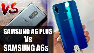 Samsung Galaxy A6s Vs A6 Plus Comparison In Hindi   Who Is Winner ?? Techno Rohit  