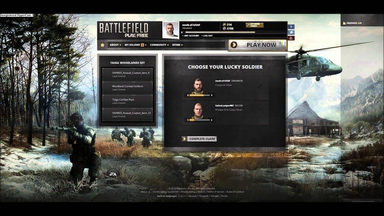 Verwandte Suchanfragen zu battlefield play4free redeem codes 2013 juli