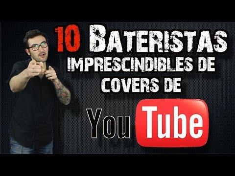 Clases de batería - 10 bateristas imprescindibles de cover de YouTube