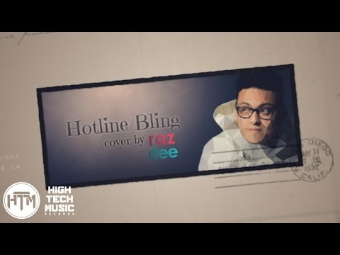 Raz Dee - Hotline Bling (RnB Cover) | Drake | Lyrics Video [HTM Records]