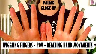 HAND MOVEMENTS + NATURAL LONG NAILS