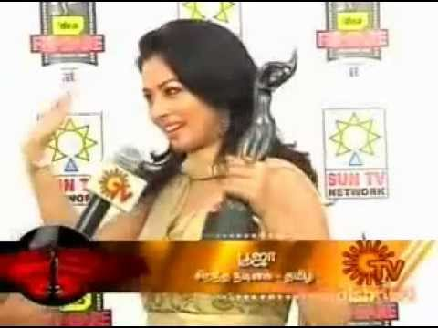 Pooja Umashankar Filmfare Award For Best Actress- Tamil 2009 video