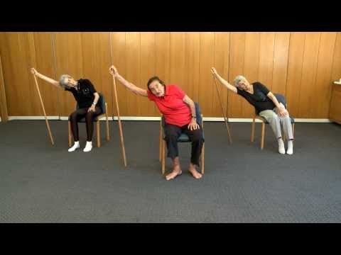 Senior Fitness - 98 year old keep fit teacher - Lesson 1