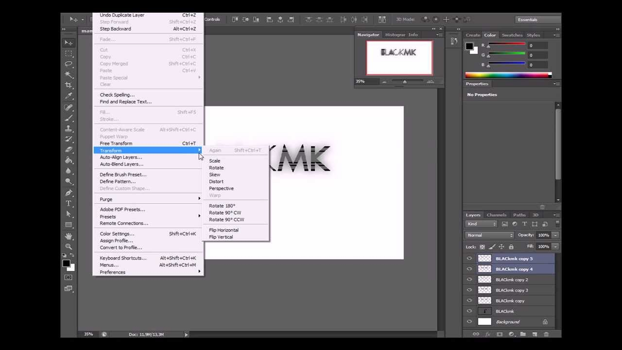 design your own logo cool text photoshop cs6 youtube