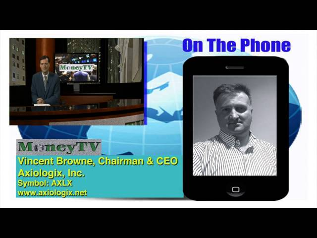 Axiologix Reflects on Recent Progress- MoneyTV with Donald Baillargeon