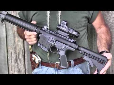 Shooting the Smith & Wesson M&P-10 308/7.62x51mm Semi-Auto Carbine - Gunblast.com