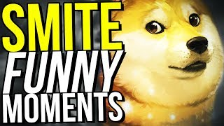 I HAVE THE WORST LUCK! (Smite Funny Moments)