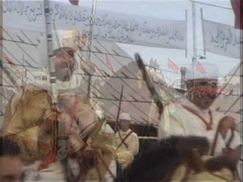 Arabian-Barb horse   chevaux tbourida troupe abdelilah safy music Ravi Shankar Jan Garbarek
