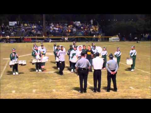 Aquinas High School Drum Corps 10-27-11