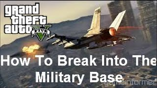 6 Easy Ways To Get In The Military Base GTA 5