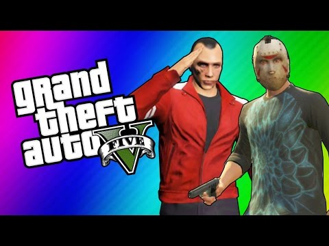 GTA 5 Online: Best Mission Ever - Windmills. Pantos. Big Explosions (GTA 5 Funny Moments)