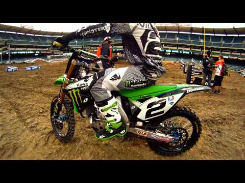 Monster Energy Supercross 2011 Opening Day at Anaheim Stadium