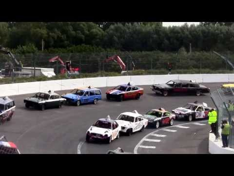 Big Bangers European Championship ( UK ) le 01 septembe 2013 à Warneton Speedway
