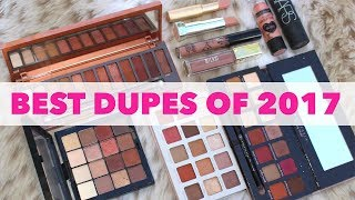 Top 10 Drugstore Makeup Dupes of 2017
