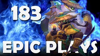 Epic Hearthstone Plays #183