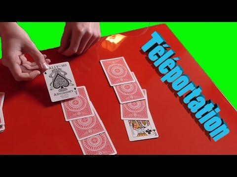 Téléportation de cartes - Tour de magie avec explication !