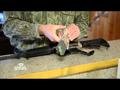 Mossy Oak Graphics AR15 Gun Wrap Install