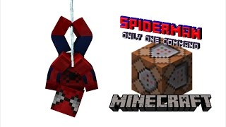 Spider-Man in Only One Command | Minecraft 1.11